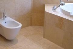 CremaMarfil Antique Bathroom 40x40x2