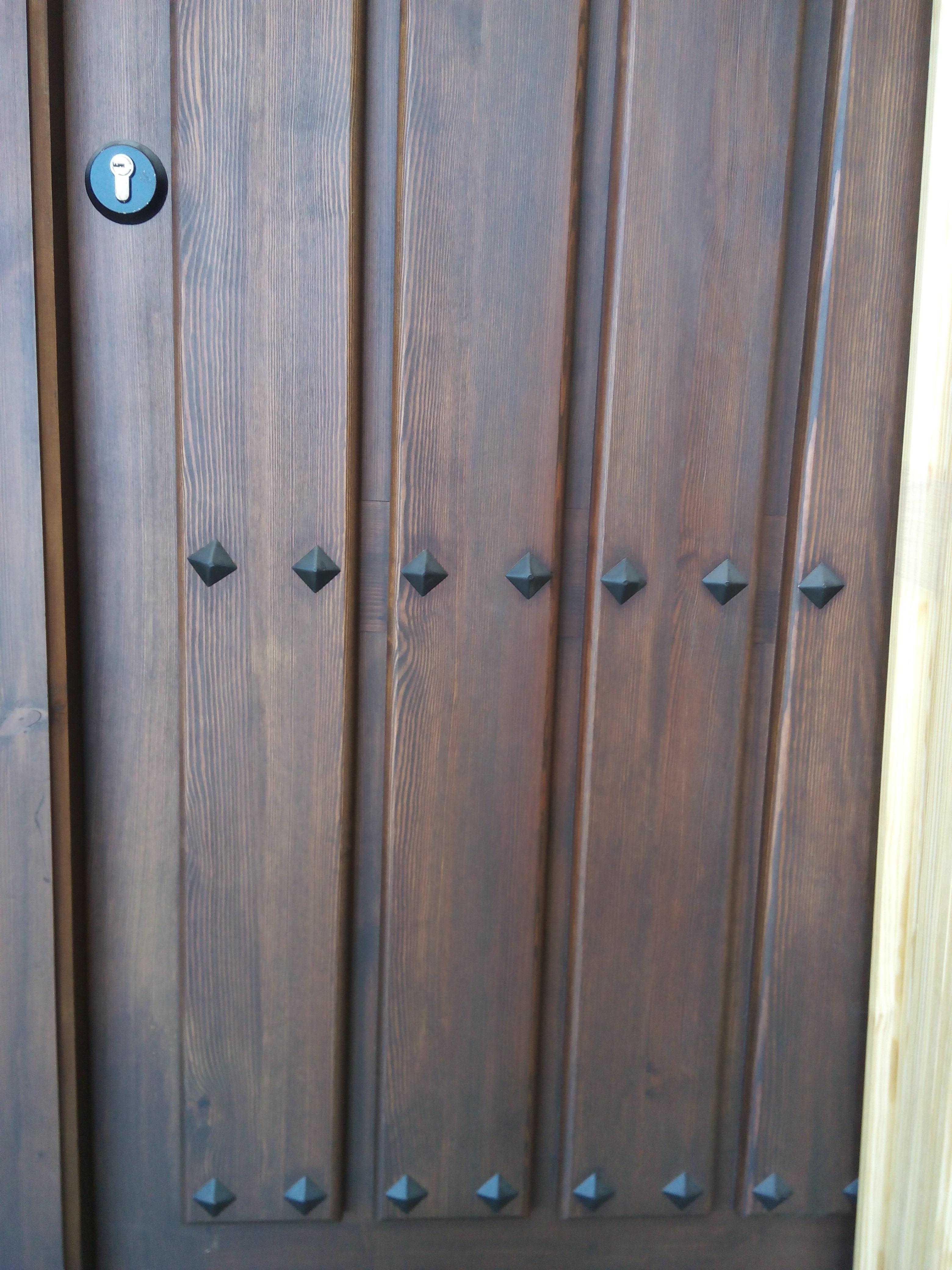 Pintura de puertas de madera y metal - Pintura puertas madera ...