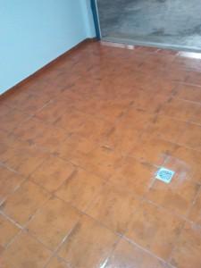 Reformas en El Campello Alex. Limpieza de pavimentos  en el pavimentado de garaje.