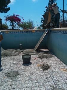 Trabajos de reparación de piscinas en Alicante. Rehabilitación de piscinas. Reformas en El Campello.