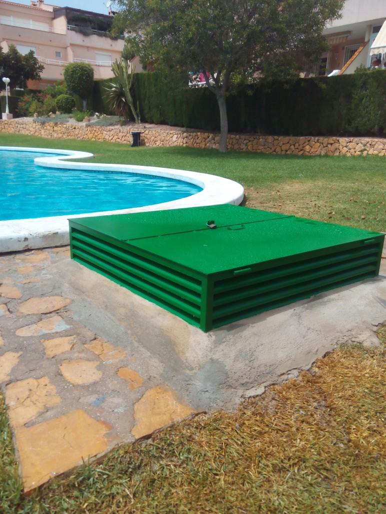 Contrucci n de arqueta para depuradora reformas alicante - Depuradoras de piscina ...