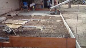 si quieres pavimentar tu patio en Alicante contrata reformas Alex Campello