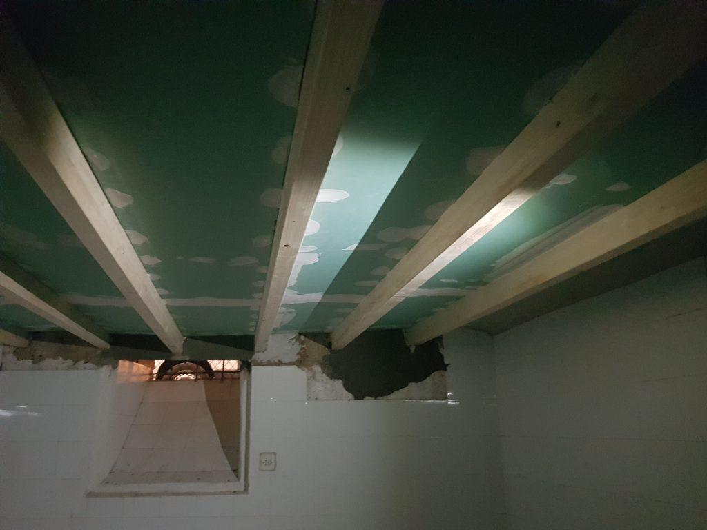 Reparación de forjado de casa antigua en Alicante